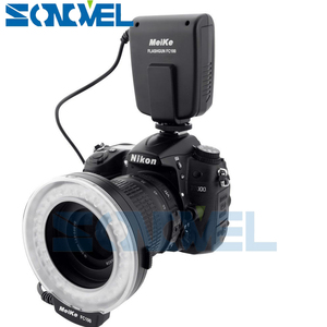 Image 3 - Meike FC 100 FC100 LED Flash Danneau Macro Lumière pour Nikon D4s D5 D3x D500 D600 D800 D810 D750 D3200 D3400 D5600 D5300 D7500 D7200