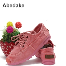 2016 new spring&summer beijing style cotton-made canvas shoes flat casual lover shoes women casual shoes