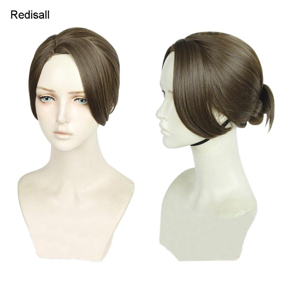 Detroit Become Human KARA AX400 Cosplay Anime  Party Hair Wig+Cap