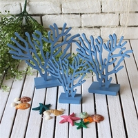 3pcs/set Unique Wooden Christmas Decorations For Home Creative DIY Coral Tree Ornaments Home Furnishings Decoration artesanato
