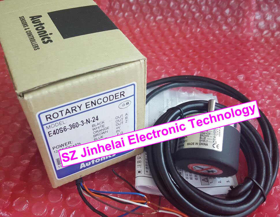 E40S6-360-3-N-24,  E40S6-100-3-N-24   New and original  AUTONICS  ENCODER 100% new and original e50s8 360 3 n 24 autonics encoder