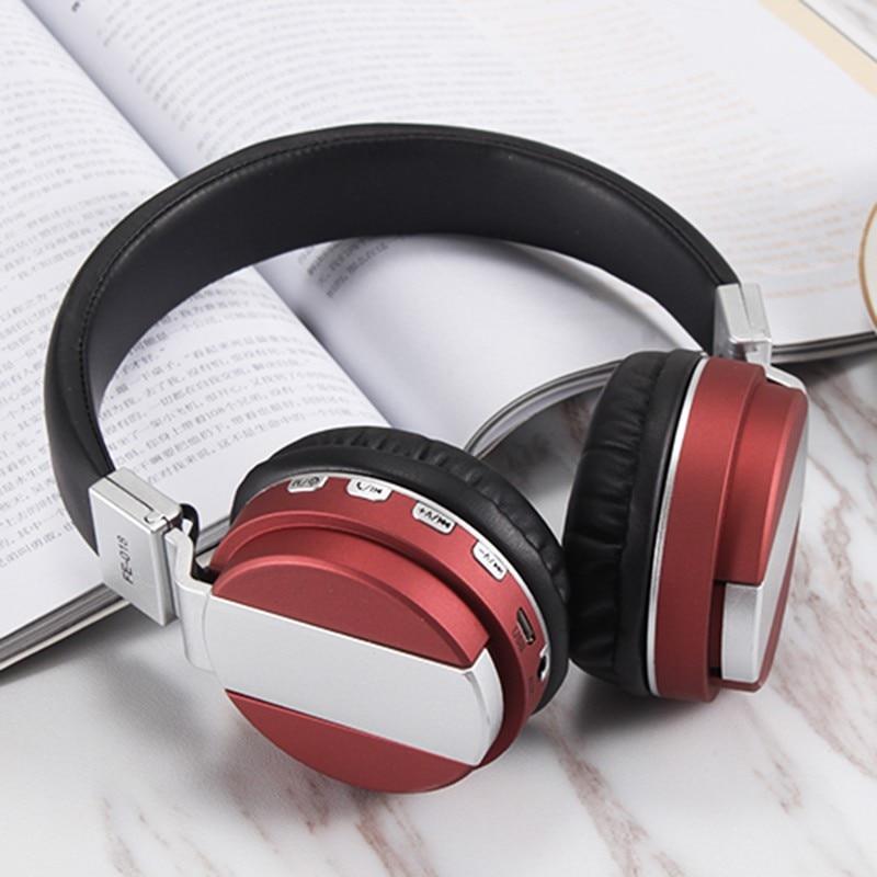 bilder für NEUE Bluetooth 4,2 mit FM Sd-karte Lesbar Musik Drahtlose Kopfhörer Faltbare Stylish Kopfhörer
