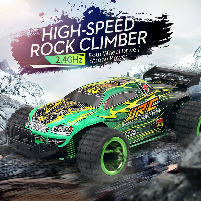 Original JJRC Q36 RC Car 3.5CH Rock Crawlers 4WD 30KM/H Driving Car 1:26 Remote Control Model Off-Road Vehicle Toy jjrc q36 off road rc car 3 5ch rock crawlers 4wd 30km h driving car 1 26 remote control model vehicle toy for children kids