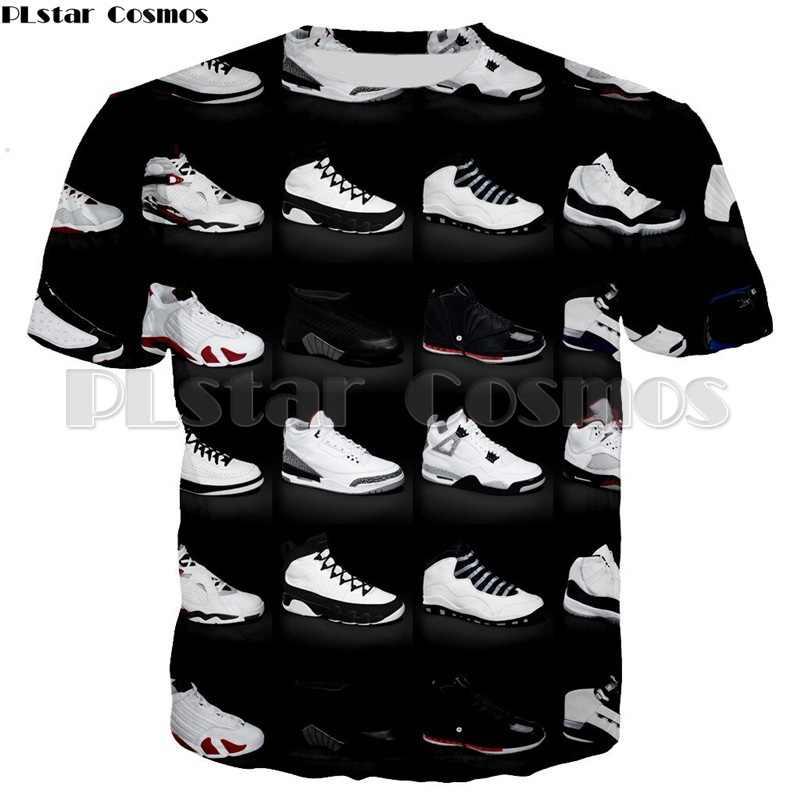 a8fe67e6fb0 PLstar Cosmos NEW Funny T-shirts Mens JORDAN 23 Classic Shoes 3d Printed T  shirt