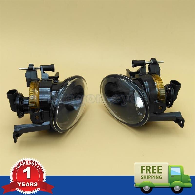 2pcs Free Shipping For VolksWagen VW Touareg 2011 2012 2013 2014 New Front New Fog Light Fog Lamp With Bulbs  цена