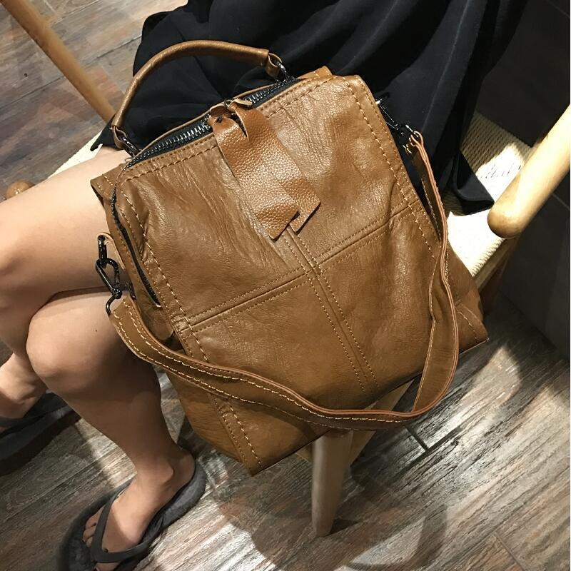 luxury women bags leather backpack for women 2018 fashion brands bag ladies backpack Microfiber Synthetic Leather zenteii women faux synthetic leather pu backpack