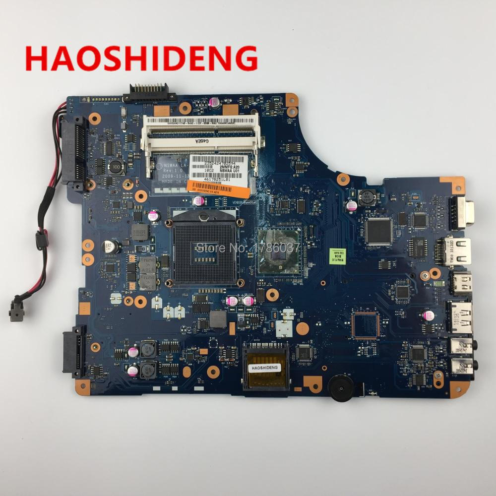 K000092540 LA-5321P for Toshiba Satellite L500 L505 series  Laptop Motherboard .All functions fully Tested ! for toshiba satellite l745 l740 intel laptop motherboard a000093450 date5mb16a0 hm65 tested