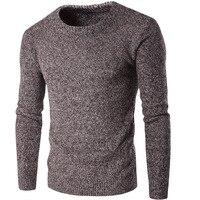 Vogue Animi. Nova Marca de Moda Inverno Homens Camisolas Pullovers Tricô Grosso Quente Designer Casual Slim Fit Malha Malhas Homem
