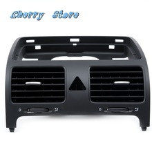 OEM Black Front Dash Central Air Outlet Vent  Fit For VW Jetta Golf GTI Rabbit MK5 MKV 1K0 819 728 F J H / 1K0819728F/J/H