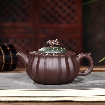 gifts custom famous jian-fang gao sell like hot cakes all hand high bee chrysanthemum pot wholesale tea set the teapot