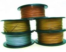 3D Printer Metallic Filament, 40% of Metal Content Filament – Copper / Brass / Bronze / Red Copper / Aluminum, 1.75mm/3mm, 0.5kg