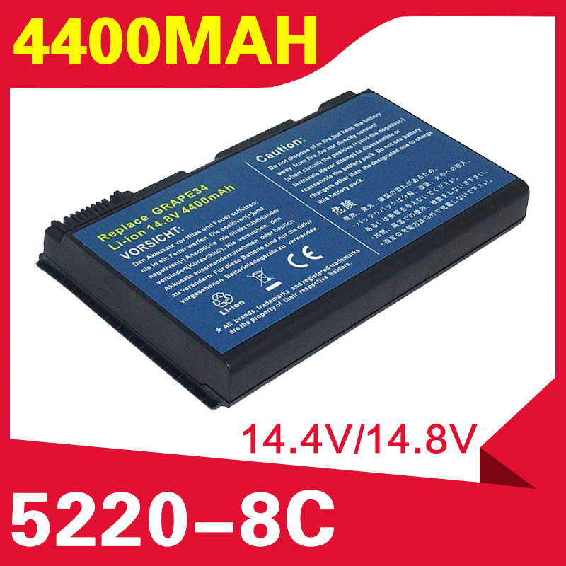 ApexWay Laptop <font><b>Battery</b></font> For <font><b>Acer</b></font> Extensa <font><b>5210</b></font> 5220 5230 5420G 5610 5620 5630 7220 7620 5620Z 5420 5610G 5630G 7620G image