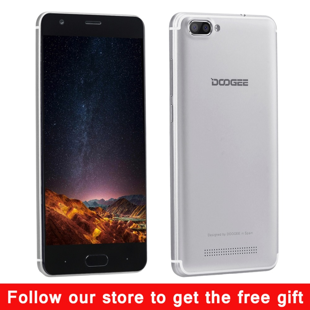 Original DOOGEE X20 Android 7 0 2GB RAM 16GB ROM MTK6580 Quad Core up to  1 5GHz Smartphone 5 0 inch HD Screen 3 Cameras Dual SIM
