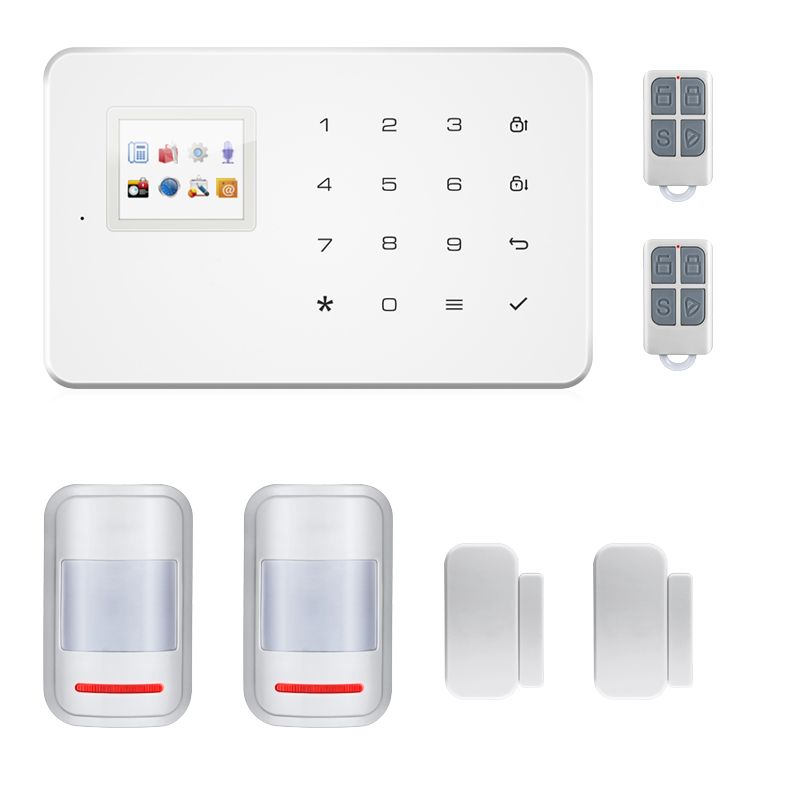 99 Wireless Zone GSM Alarm System Android IOS App TFT Color Display SIM Smart Home Burgular Security Alarm Built-in Siren