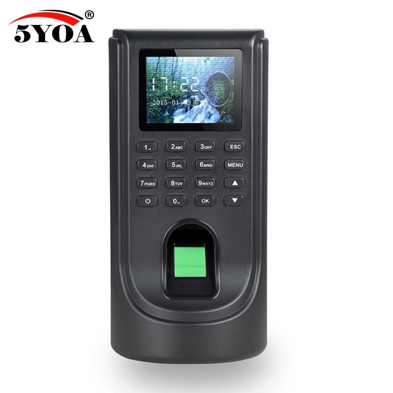 Biometric Fingerprint Access Control Attendance Machine TCP IP Digital Electric Reader Scanner Sensor Code System For