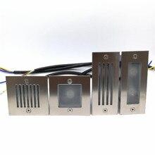 1 шт.,, 3 Вт, 2x3 Вт, IP68 Светодиодный светильник для лестниц, подвесной светильник, встраиваемый светильник для помещений/улицы, лестничный светильник s 85-265 в