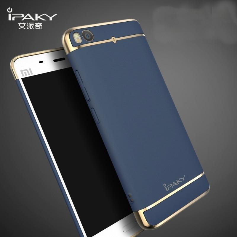 Original teléfono 3in1 ipaky caso para xiaomi mi5s plus moda chapado mate contra