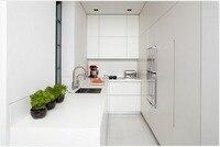2016 новый дизайн горячей продажи кухня белый лак модульные кухонные шкафы кухонные двери индивидуальные белый кухонная мебель