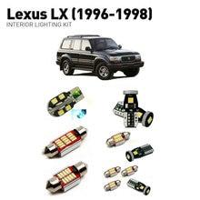 Led interior lights For Lexus Lx 1996-1998  15pc Led Lights For Cars lighting kit automotive bulbs Canbus цена