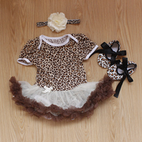 2016 new arrival baby girls outfits baby kids boutique baby girl clothing sets newborn infant girl tutu dress jumpsuit clothes