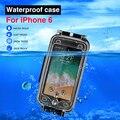Для iPhone 6 40 m/130ft профессиональный водонепроницаемый защитный корпус для дайвинга Фото Видео подводный чехол для apple iphone 6s