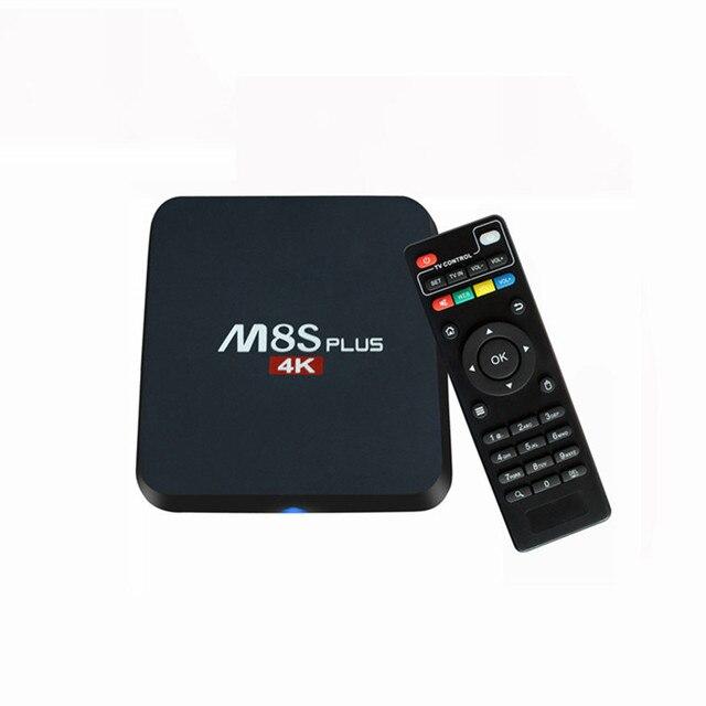 M8S Plus Smart TV BOX 2G 8G 2.4G/5G Dual WiFi Amlogic S905 Quad Core Android 5.1 KODI 16.0 H.265 HEVC Media Player Mini PC