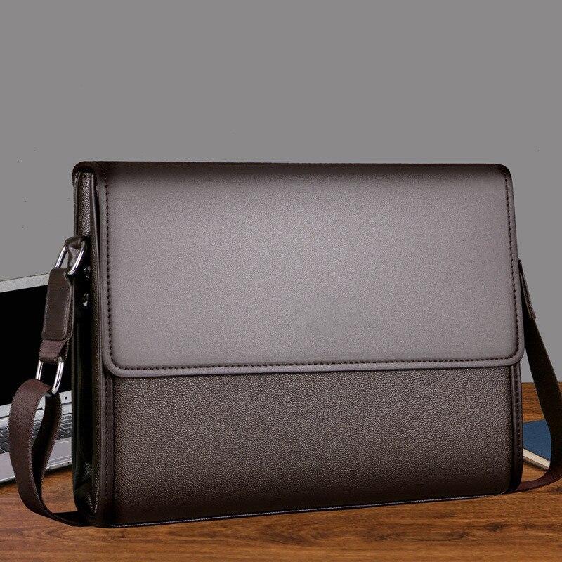 Men Bag Shoulder Bag Business Briefcase Men Messenger Bags Vintage Leather Crossbody Bag Casual Man Handbags