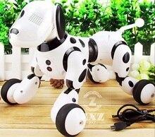 Беспроводной пульт дистанционного управления умная собака электронная собака обучающая детская игрушка Танцующий Робот собака без коробки подарок на день рождения