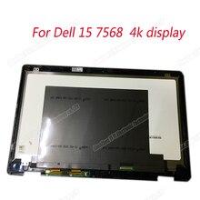 """15,"""" ЖК-дисплей+ сенсорный экран дигитайзер в сборе для Dell Inspiron 7568 LTN156FL02 4 k ЖК-дисплей"""