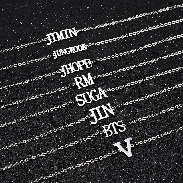 BTS MEMBER NAME BRACELET (7 VARIAN)