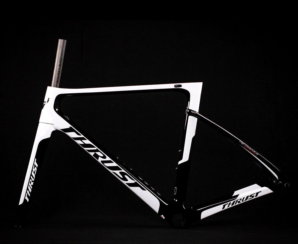 thrust carbon bike Chameleon color road frame Di2 Mechanical racing bike carbon road frame 2019 road