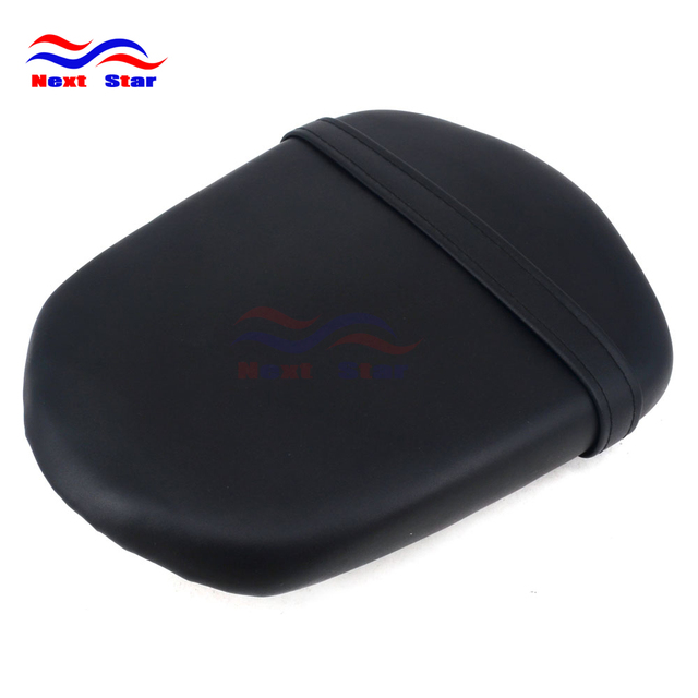 Motorcycle Leather Cushion Passenger Rear Pillion Seat For