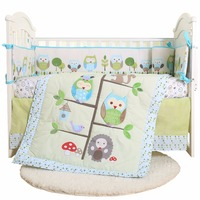 competitive price 4 piece baby bedding set