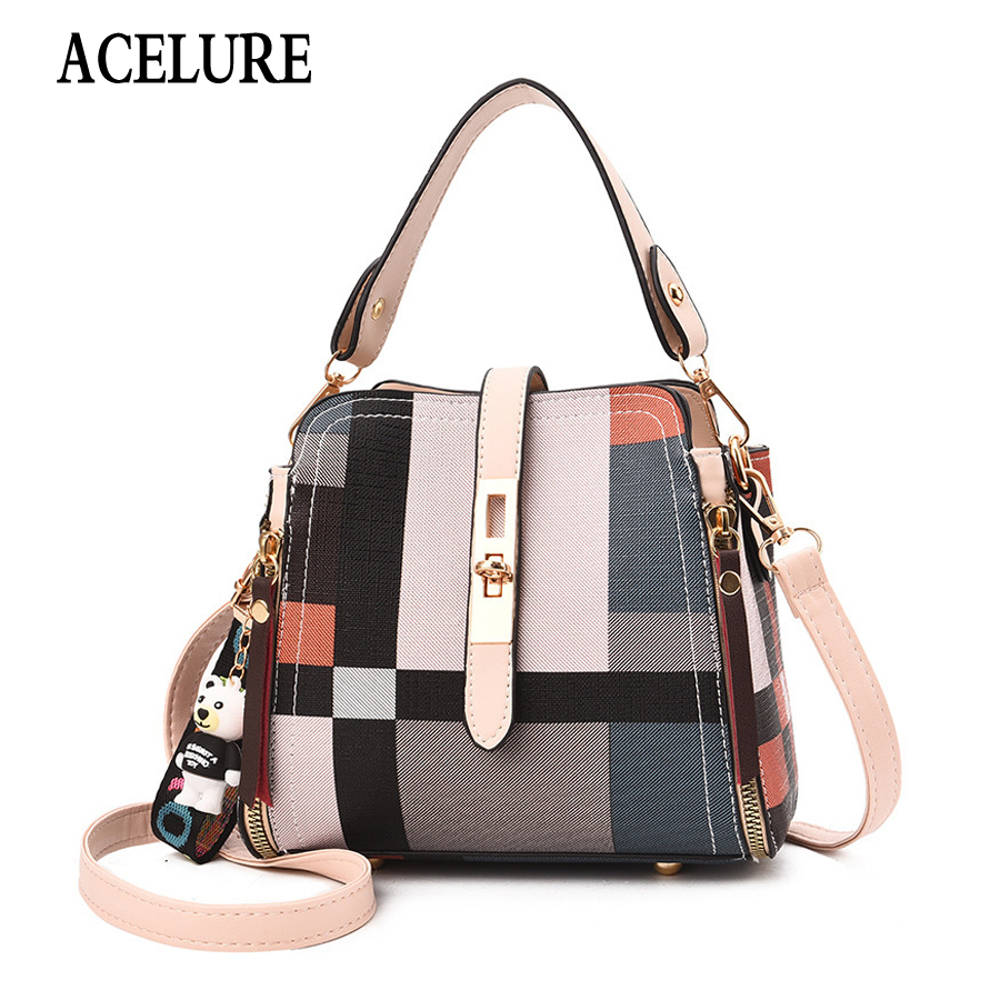 ACELURE NEW HOT SALE Shoulder Bags Women Casual Tote Bag Female Messenger Bags High Quality PU Leather Handbag Crossbody Bags