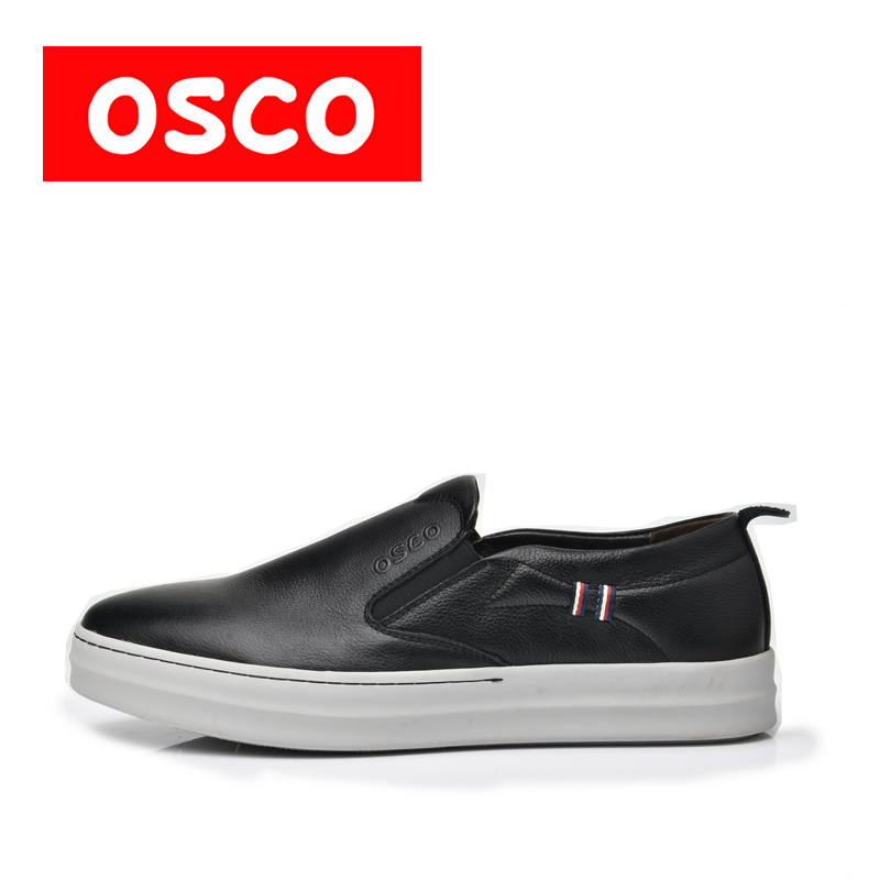 OSCO ALL SEASON New Men Shoes Fashion Men Casual Shoes Slip on casual men shoes#S6002 пена монтажная mastertex all season 750 pro всесезонная