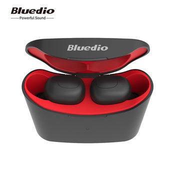 Bluedio 2019 T-elf 3D Stereo Wireless mini earphone Deep Bass Earbuds with 650mAh Charging Box for Sports magnetic attraction bluetooth earphone headset waterproof sports 4.2