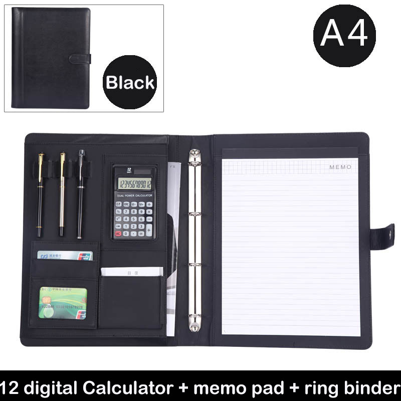 Business, File, Black, Magnet, Gift, Organizer