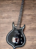 Gene simmons punishes 4 string electric bass, rosewood fingerboard, basswood body.