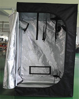 80*80*180cm grow tent non toxic 600*300D greenhouse grow box black for plants growing