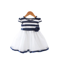 BibiCola Casual Baby Girl Dress Summer Children Clothing Outfits Baby Girls Fashion Lace Layered Chiffon Party