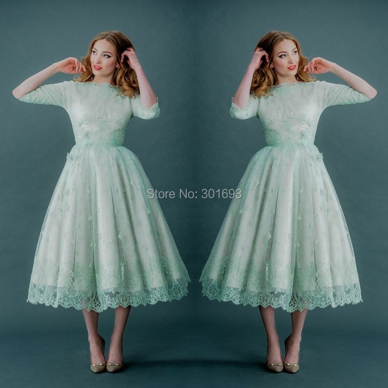 Modern Vintage 50s Wedding Dress Image - Womens Dresses & Gowns ...