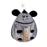 New 3D Cartoon Storage Bag Kids Toy Collection Bathroom Waterproof The Wall Bag Travel Swimming Net