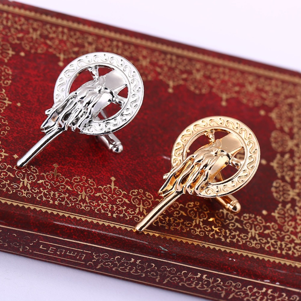 H&F New Arrival Hot Selling Song of Ice and Fire Game of Thrones Hand Of The King Pin,Brooch pin for men and women wholesale ...