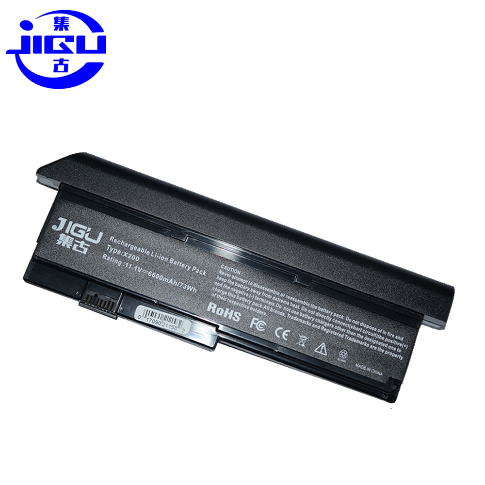 JIGU Laptop Battery For IBM/ Lenovo for ThinkPad X200 X200s X201 X201S X201i 42T4834 42T4835 43R9254 43R9255 42T4537 42T4541 jigu original laptop battery for lenovo for thinkpad sl400 sl410 sl410k sl500 sl510 t410 t410i t420 t420i t520 w510 w520