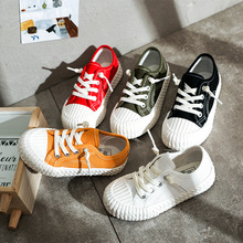 Children Canvas Shoes Girls Boys Sport Breathable Boys Sneakers Brand Shoes for Girls Solid Color Casual Child Flat Canvas Shoes все цены