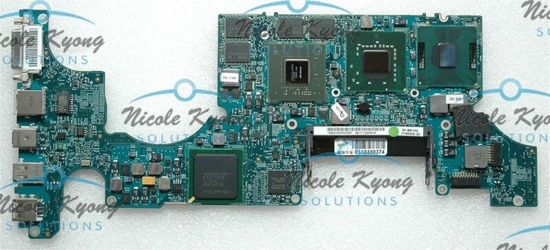 Не дефект 17 820 2262 A 661 4964 2,6 ГГц T9500 8600 м G84 603 A2 материнской плате для MacBook pro A1261 после конца 2008 года