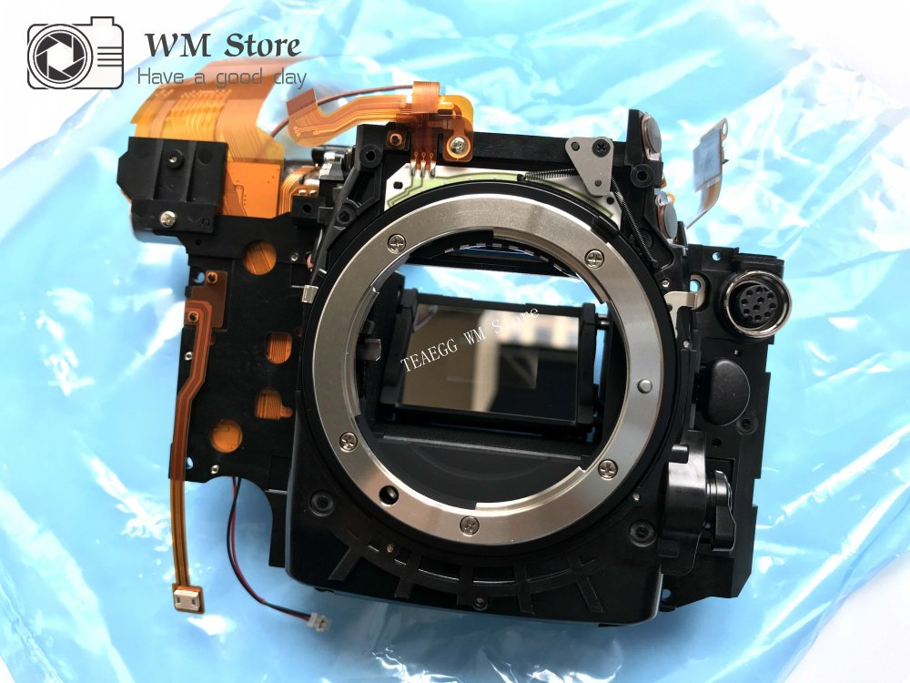 NEW For Nikon D810 Mirror Box Front Main Body Framework with Aperture Reflective glass Driver Motor