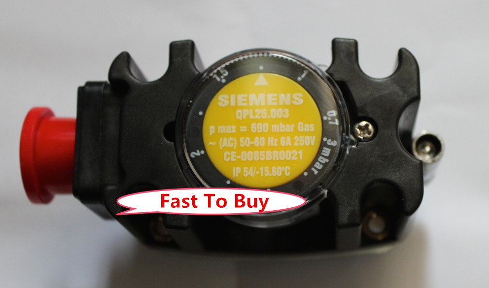 New Arrival Pressure Controller Gas Pressure Switch QPL25.003 For Burner New Original
