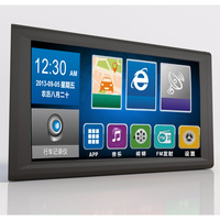 9 inch Built in memory: 8G Car gps navigation FM free new maps Bluetooth Windows CE 6.0 Reverse video AV IN