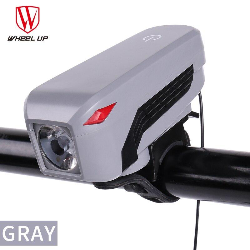 La ROUE De Bicyclette De Vélo Intégré batterie USB Rechargeable IPX5 350 Lumens Vélo avant Guidon Lumière Lampes dans Vélo lumière de Sports et loisirs